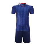 2018世界杯日本主场空白足球服套装