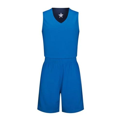 V领篮球组队球服套装个性DIY篮球服VT6317