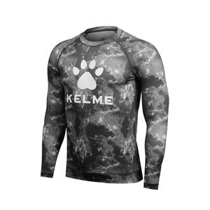 KELME卡尔美男长袖运动健身衣T恤透气速干K17C7003