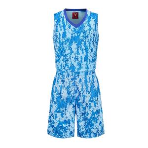 迷彩篮球服套装女款VT1816