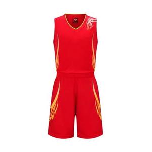光板空白男款篮球服套装VT1818