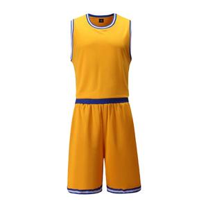 全明星篮球服套装男光板 VT1701